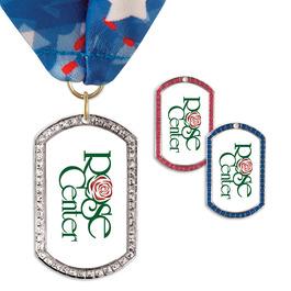 GEM Tag Award Medal w/ Millennium Neck Ribbon