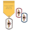 GEM Tag Award Medal w/ Satin Drape
