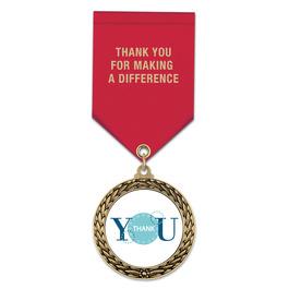 LFL Award Medal w/ Satin Drape