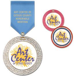 GEM Award Medal w/ Satin Drape