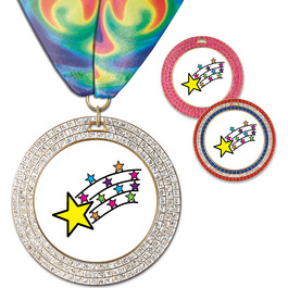 GEM Award Medal w/ Millennium Neck Ribbon