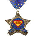 AS14 All Star Award Medal w/ Millennium Neck Ribbon