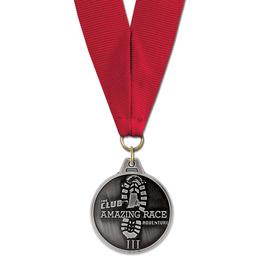 HM Award Medal w/ Grosgrain Neck Ribbon