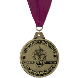 HS Award Medal w/ Grosgrain Neck Ribbon
