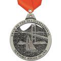 HE Award Medal w/ Satin Neck Ribbon