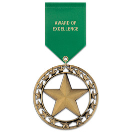 RS Award Medal w/ Satin Drape