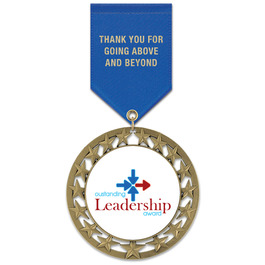 RS14 Award Medal w/ Satin Drape