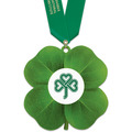 Birchwood Clover Award Medal w/ Satin Neck Ribbon