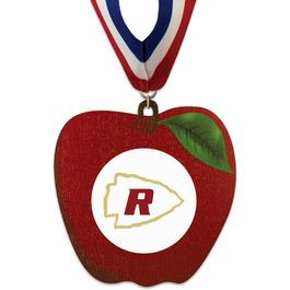 Birchwood Apple Award Medal w/ Millennium Neck Ribbon