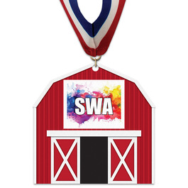 Birchwood Barn Award Medal w/ Millennium Neck Ribbon