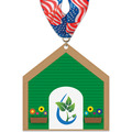 Birchwood Dog House Award Medal w/ Millennium Neck Ribbon