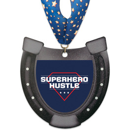 Birchwood Horseshoe Award Medal w/ Millennium Neck Ribbon