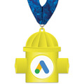 Birchwood Hydrant Award Medal w/ Millennium Neck Ribbon