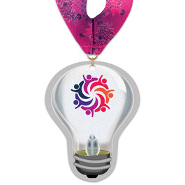 Birchwood Light Bulb Award Medal w/ Millennium Neck Ribbon