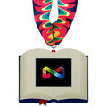 Birchwood Open Book Award Medal w/ Millennium Neck Ribbon