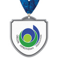 Birchwood Shield Award Medal w/ Millennium Neck Ribbon