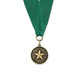 CX Award Medal w/ Grosgrain Neck Ribbon