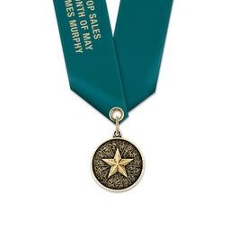 CX Award Medal w/ Satin Neck Ribbon