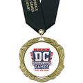 XBX Award Medal w/ Satin Neck Ribbon