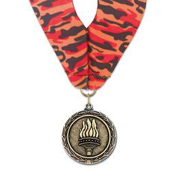 MX Award Medal w/ Millennium Neck Ribbon