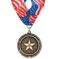 LX Award Medal w/ Millennium Neck Ribbon