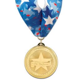 BL Award Medal w/ Millennium Neck Ribbon
