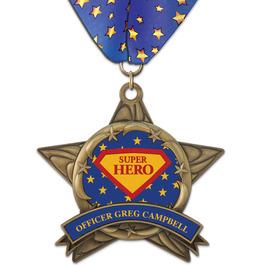 AS14 All Star Award Medal w/ Millennium Neck Ribbon