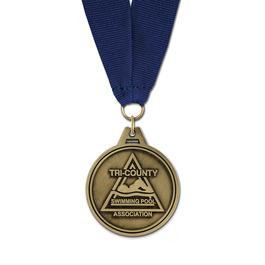 HL Award Medal w/ Grosgrain Neck Ribbon