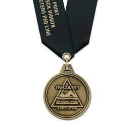 HL Award Medal w/ Satin Neck Ribbon