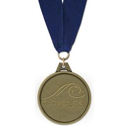 HG Award Medal w/ Grosgrain Neck Ribbon