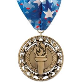 Rising Star Award Medal w/ Millennium Neck Ribbon