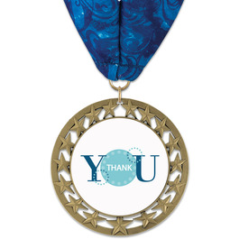 RS14 Award Medal w/ Millennium Neck Ribbon