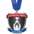 Birchwood Custom Medal w/ Satin Neck Ribbon