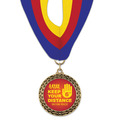 LFL Award Medal w/ Millennium Neck Ribbon