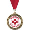 GFL Award Medal w/ Grosgrain Neck Ribbon