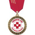 GFL Award Medal w/ Satin Neck Ribbon