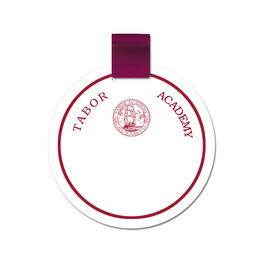 Circular Pin-on Name Tag
