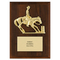Barrel Racing Award Plaque