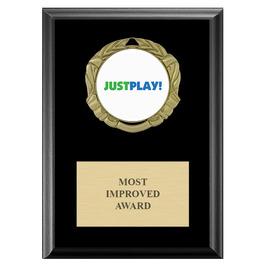 XBX Medal Award Plaque - Black Finish