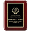 "7"" x 9"" Rosewood Piano Award Plaque"