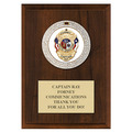 GEM Medal Award Plaque - Cherry Finish