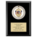 GEM Medal Award Plaque - Black Finish