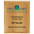 Full Color Award Plaque - Red Alder