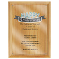 Full Color Award Plaque - Red Alder w/ Acrylic Overlay