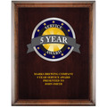 Full Color Award Plaque - Espresso