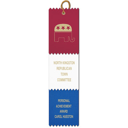 3 Layered Pinked Top Award Ribbon