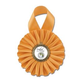 Bottle Rosette Award Ribbon