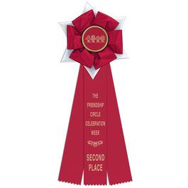Dartmoor Rosette Award Ribbon