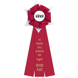 Dartmoor Rosette Award Ribbon