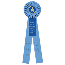 Signature Rosette Award Ribbon